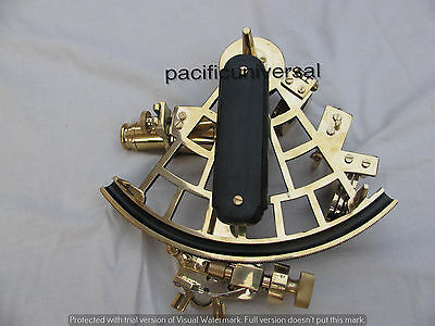 Handmade Nautical Sextant Solid Brass Astrolabe Ships Working Collectible Gift.