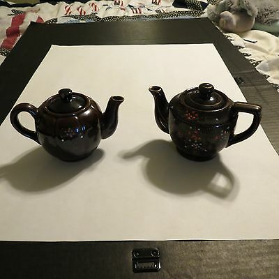 Lot of 2 Made in Japan Teapots