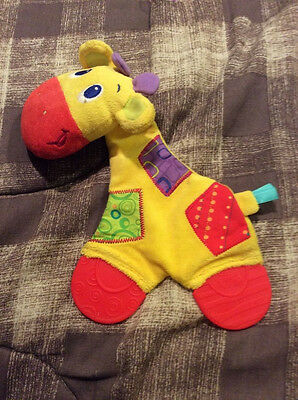 Bright Stars Giraffe Teether infant toy - gently used