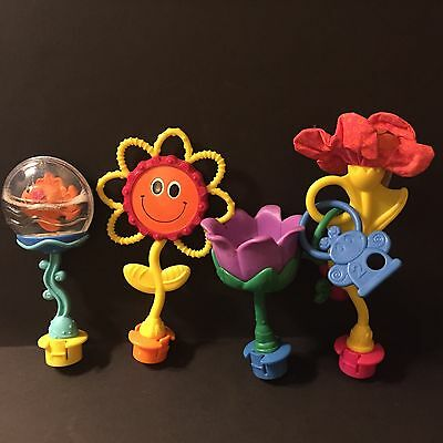 Evenflo Triple Fun Exersaucer Switch a Roo Pod Replacement Flower Toys
