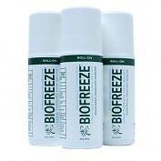 Biofreeze Pain Relieving Gel , 82g (3oz) Roll On 3 PACK CON-T12655-3