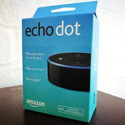 Amazon Echo Dot (Black) FREE EXP POST