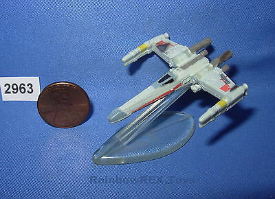 Star Wars classic MICRO MACHINES Red Squadron X-Wing Battle Damaged