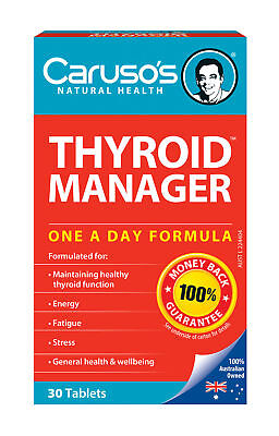 CARUSO'S Thyroid Manager 30 Tablets