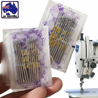 100pcs Threading Needles Pins for Industrial Sewing Machine 90/14 110/18 HNEE516