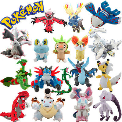 Pokemon XY Mega Latias Groudon Kyogre Xerneas Kyogre Kyurem Eevee etc. Plush Toy