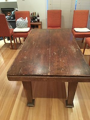 Antique Hardwood Table