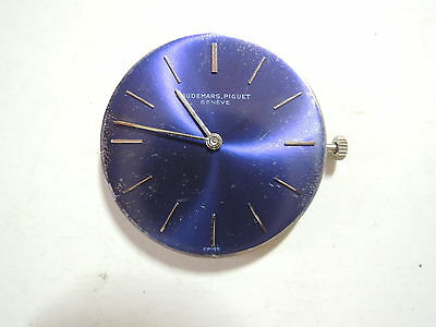 Authentic Vintage AP  Watch Hand Winding Movement w/ Dial