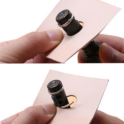DIY Leather Craft Lacing Cord Maker Design Strip Cutter Tools with 3 Blade