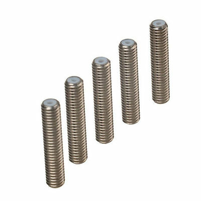 M6x40mm 30mm Nozzle Throat Stainless Steel Tube For 3D Printer Extruder 1.75mm