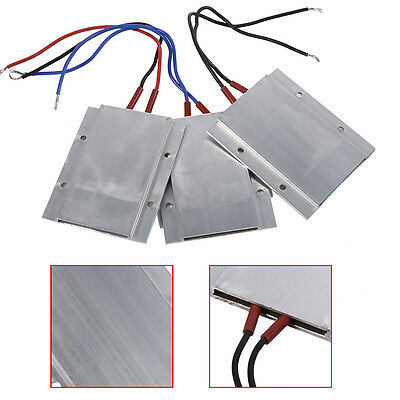 220V PTC Heating Element Thermostat Heater Plate For Components Preheating SS