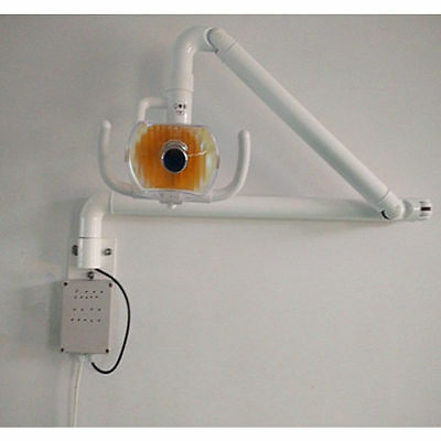 50W Dental Medical Surgical  Shadowless Cold Light Lamp Wall Hanging with Arm