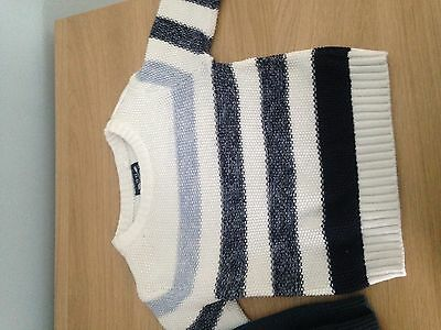 Next Set Of Two Boys Jumpers. Size 6-9 Months