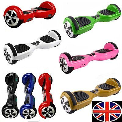"6.5"" 2 Wheels Electric Self-Balancing Scooter LED Kids adult Balance Board"