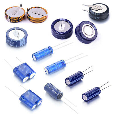 Super Capacitor/ Ultracapacitors 2.7V / 5.5V 0.33F 0.47F 1F 1.5F 2F 4F 10F Farad