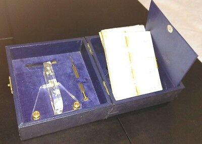 "A Vintage Sapphire Map Engraver by ""ASTRAFOIL"" with Spare Bits in Original Box"