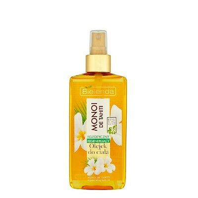 Bielenda Regenerating Body Oil Exotic Monoi De Tahiti Oil 150ml