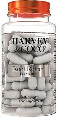 Root Rehab - Natural Hair Growth Vitamins For Women and Men Brand NEW