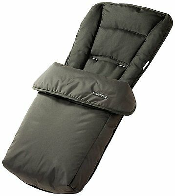 Hauck Universal Cosytoes Foot Muff fits any hauck stroller - Black 566992