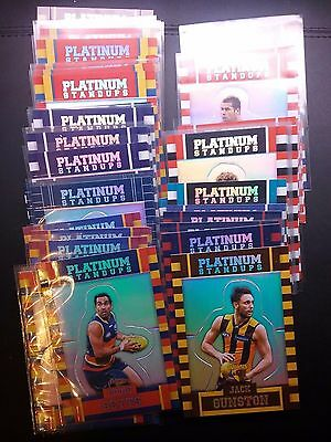 2017 platinum standups *pick a card* afl select footy stars revised