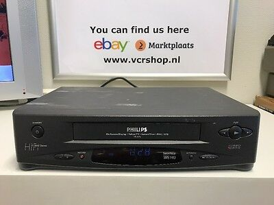 Philips VR675 Vhs Recorder 6 Head