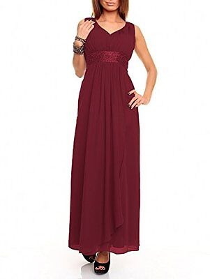 Astrapahl br09111ap, Vestito Donna, Rosso (Weinrot), 34