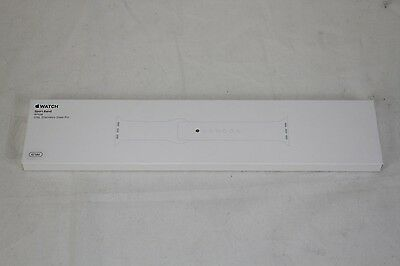 NEW Genuine 42mm Apple Watch Band – 316L Stainless Steel Pin - WHITE MJ4M2ZM/A