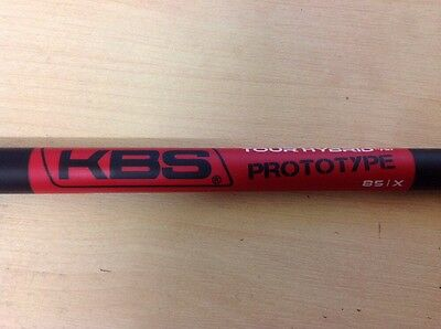 Raw Kbs Graphite Tour Prototype Hybrid Shaft 85Gm X Stiff Flex 42""