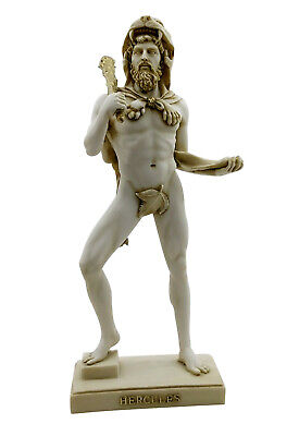 Hercules Greek Semi God Nude Male Handmade Statue Sculpture Figure 12.4΄΄