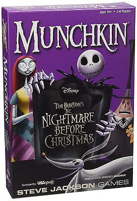 Munchkin The Nightmare Before Christmas Highly Anticipated Version Card Game