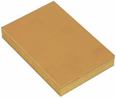 Speedball 4308 Linoleum Block, 4 X 6 Size, Smoky Tan Set of 2