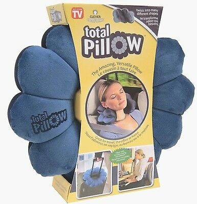 Total Pillow - Great For Travel, Sitting, Driving, Relaxing, Reading