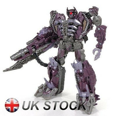 "7"" Transformers Dark of the Moon Shockwave Action Figure Kid Toy New Arrival"