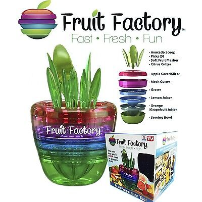 Fruit Factory 10 in 1 Multi Kitchen Tools Organizer | NEW!