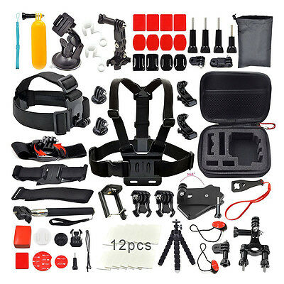 Accessories 30-in-1 Accessory kit Bundle Kit for Gopro Hero 5 4 3+ 3 2 SJCAM UK