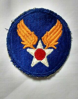 WWII WW2 US Army Air Force Patch SSI Shoulder Sleeve Insignia