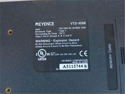 1Pcs Used Keyence Touch Panel VT2-10SB xt
