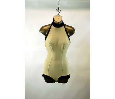 1950s bathing suit swimsuit Jantzen International Set A French Design halter