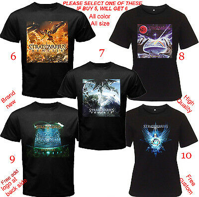Concert T-Shirt All Size Adult XS,S,M,L~5XL,Youth,Toddler STRATOVARIUS Eternal
