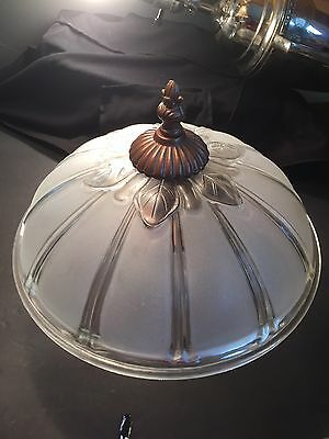Antique custom art deco light  ceiling chandelier sunflower replacement globe