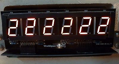 5X 6-Digit DIY Display Kits for Bally/Stern Pinballs - Wolffpac - Red digits