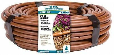 DIG Drip and Micro Irrigation 100 ft. Dripline with 6 in. Emitter Spacing