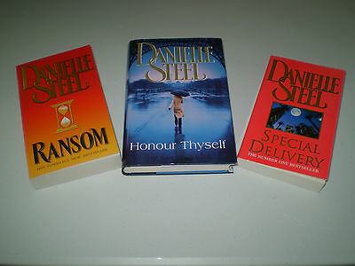 Danielle Steel Books x 3 - 2 Paperback and 1 Hardback - English