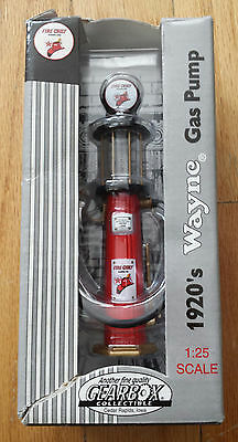 Wayne - 1920's Gas Pump - Fire Chief - 1:25 Scale - New In Box
