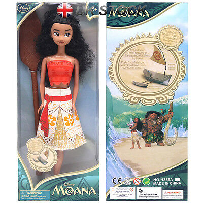13'' Disney Moana Princess  Adventure Collection Action Figure Doll Toy GiftsPVC