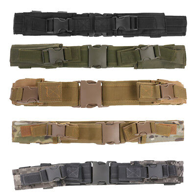 """2"""" Molle Webbing Outdoor Tactical Belt Quick Detach with Mag Pouches Holster"""