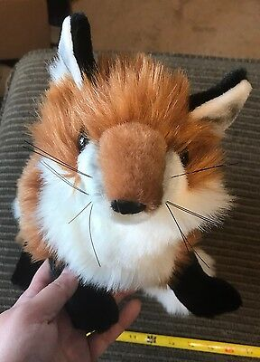 Folkmanis Red Fox Puppet With Tags New