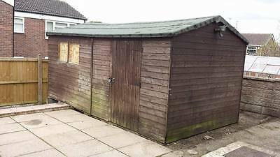 Wooden shed storage garden shed 16 x 9