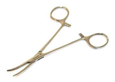 Bdeals Kelly Hemostat Forceps Curved 5.5  Surgical Dental Instruments