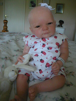Reborn Baby Doll Linde Scherer's Selina By Eternal Infants